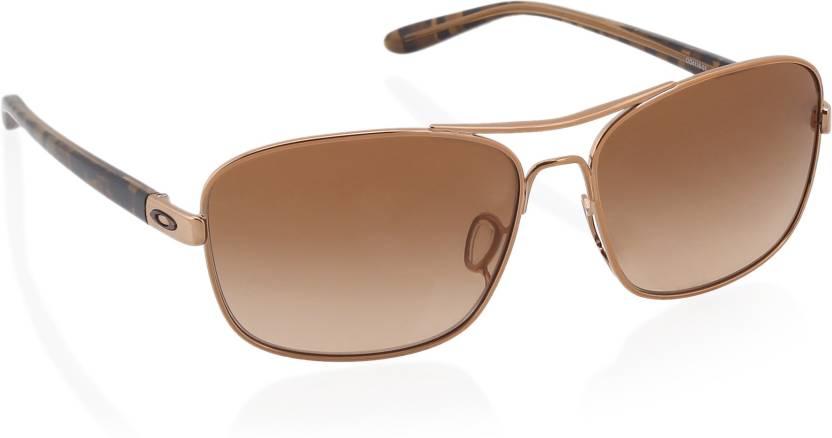 208d65645e Buy Oakley SANCTUARY Over-sized Sunglass Brown For Women Online ...