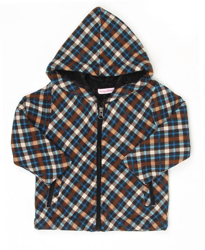e430380a4 Wingsfield Full Sleeve Checkered Baby Boys & Baby Girls Sweatshirt - Buy  Wingsfield Full Sleeve Checkered Baby Boys & Baby Girls Sweatshirt Online  at Best ...