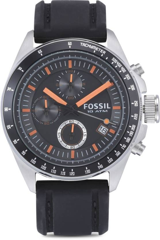 Fossil CH2647 Decker Watch - For Men  (End of Season Style)