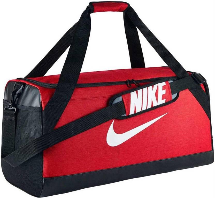 Nike (Expandable) Brasilia Travel Duffel ( Red ) Travel Duffel Bag  (Multicolor) 3aedee6993ff8