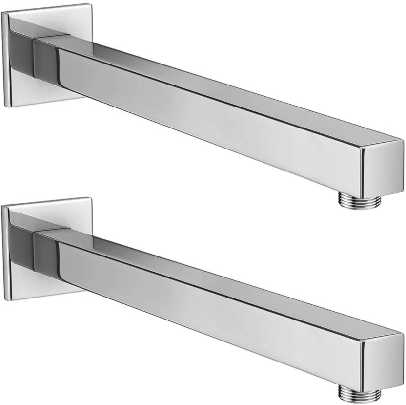 Drizzle 18 Inch Square Shower Arm   Set Of 2 Faucet Set Price In ...