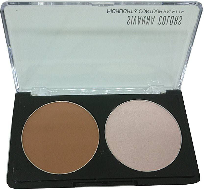 Sivanna Colors Highlight & Contour Palette For Woman Highlighter (03)