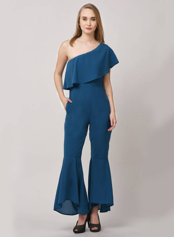 974807e9a367 Street 9 Solid Women Jumpsuit - Buy Street 9 Solid Women Jumpsuit Online at  Best Prices in India