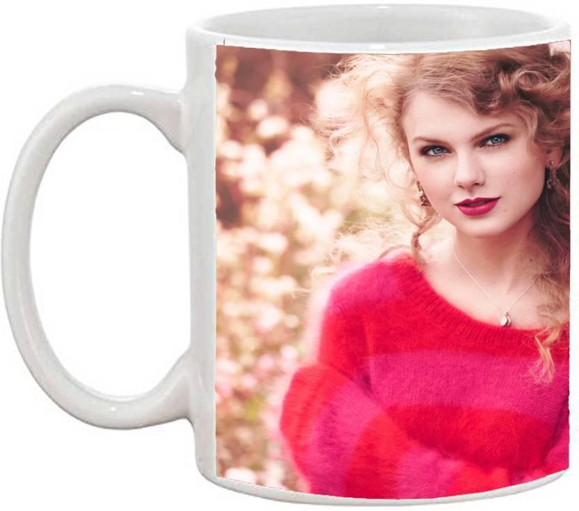Gsls Beautiful Coffee Cute Taylor Swift Pattern Ceramic Mug Price In