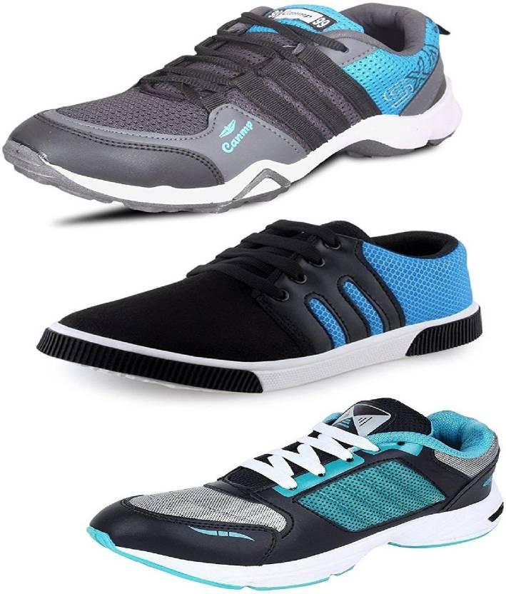 c5b3a5edf3 Genial Genial-DANGAL/M-216/BR-1 BLU Running Shoes For Men (Multicolor)
