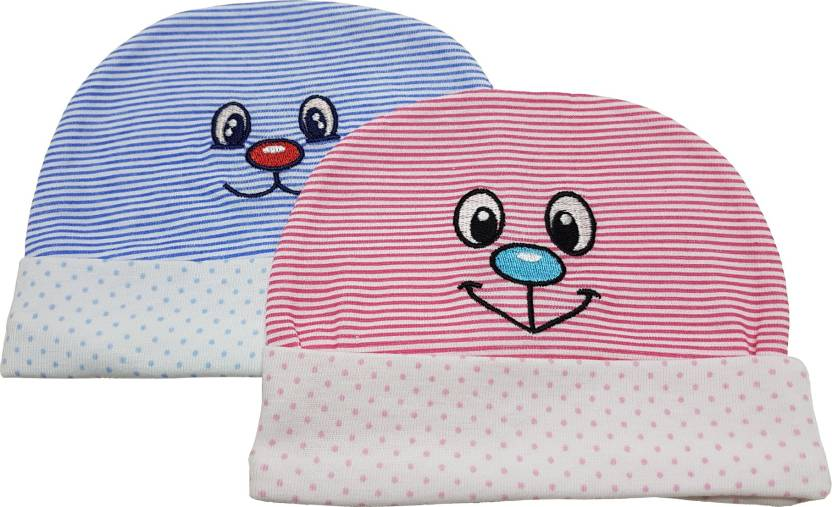 cd110fb41 GoodStart Baby Soft Cotton Caps for New Born, 0-12 Months ...