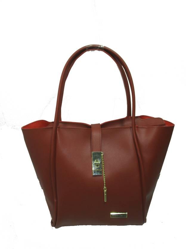 967b2bb3455 Buy JIMMY CHOO Shoulder Bag Maroon Online @ Best Price in India ...