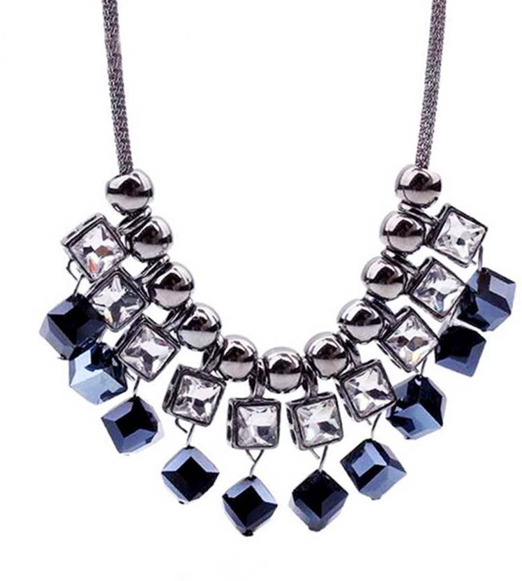 masterclass Blue_Cube Silver Sapphire Crystal Pendant Price