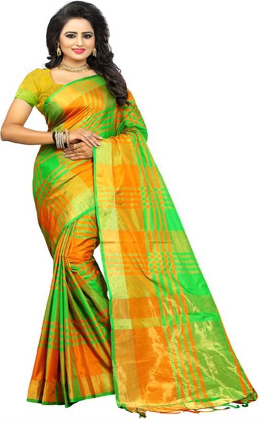 263cd0af1 Buy V J Fashion Self Design Fashion Art Silk Light Green Sarees ...