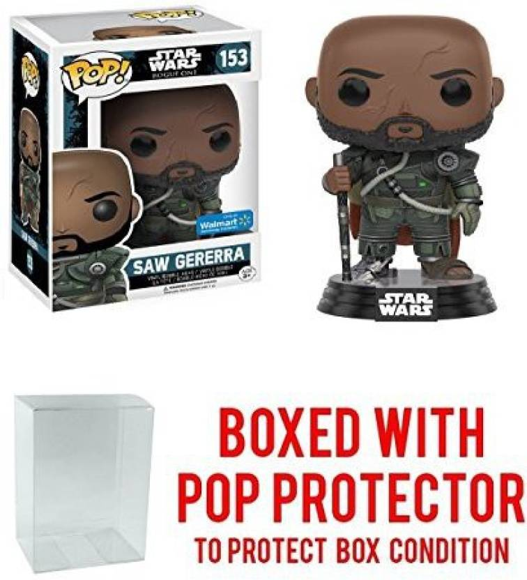 official photos 145d9 c8054 Pop Protector Funko Pop! Star Wars Rogue One Saw Gererra Walmart ...