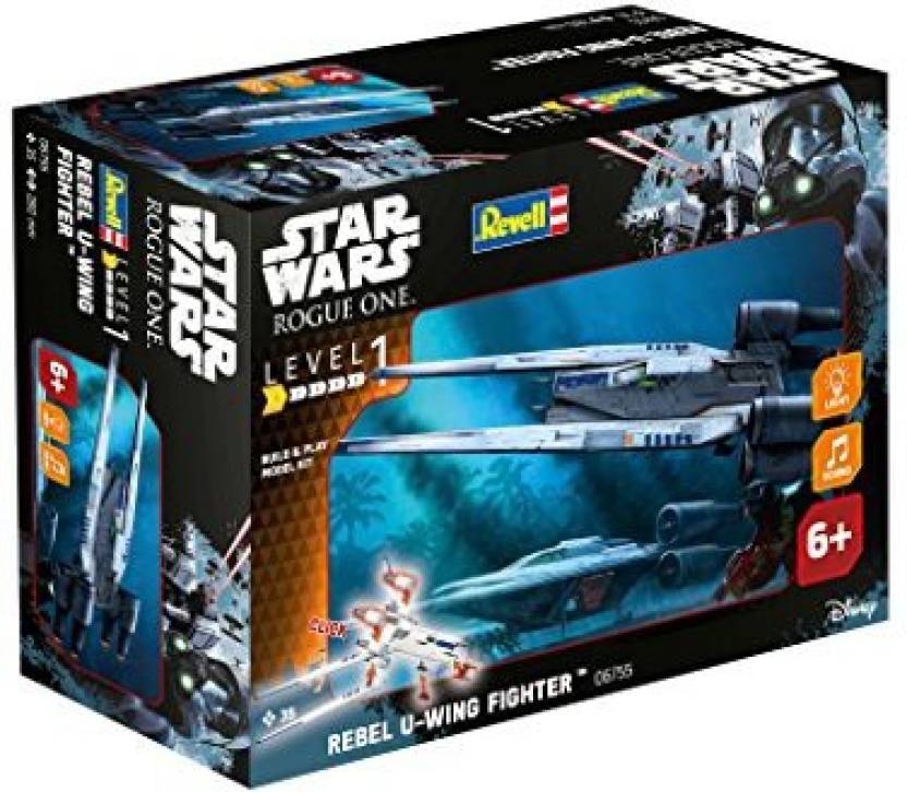 Revell Star Wars Rogue One Build And Play U Wing Fighter