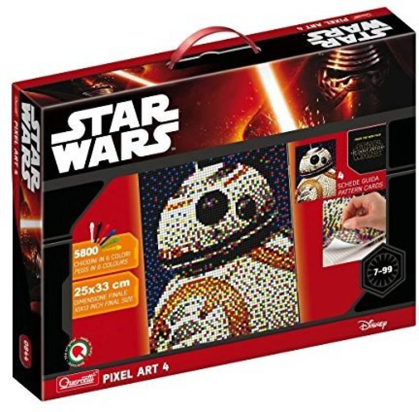Quercetti Star Wars Pixel Art Bb8 Droid Star Wars Pixel