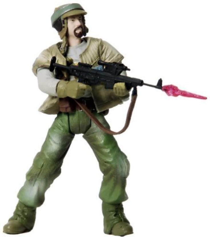 Star Wars EP2 AOTC Endor Rebel Soldier with Beard Hasbro