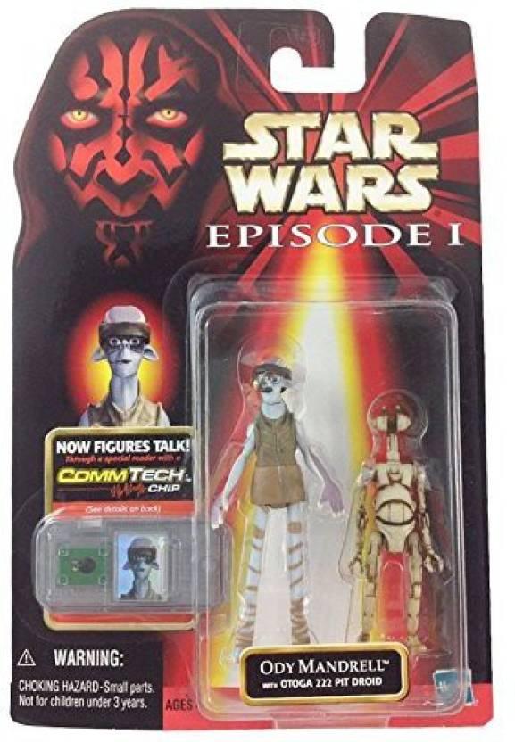 Star Wars Episode 1 Ody Mandrell Hasbro Figure Collectable Action- & Spielfiguren
