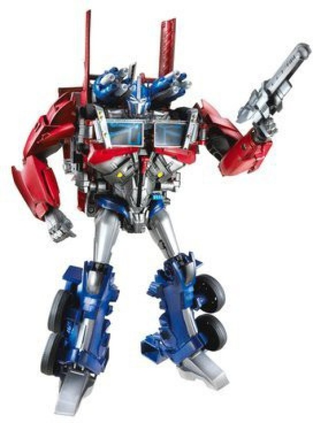 Transformer prime AM-01 Optimus Prime With Battle Shield Tru JAPAN EXCLUSIVE