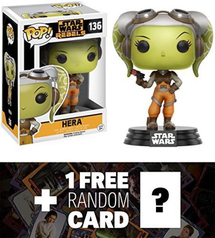 Rebels POP Star Wars Hera Vinyl Action Figure New In Box Funko