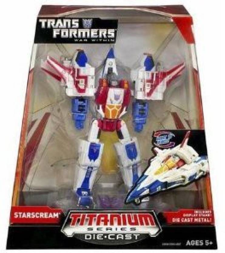 Hasbro Titanium Series Transformers 6 Inch Metal Cybertron