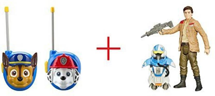 Ekids Paw Patrol Walkie Talkies - Chase And Marshall And