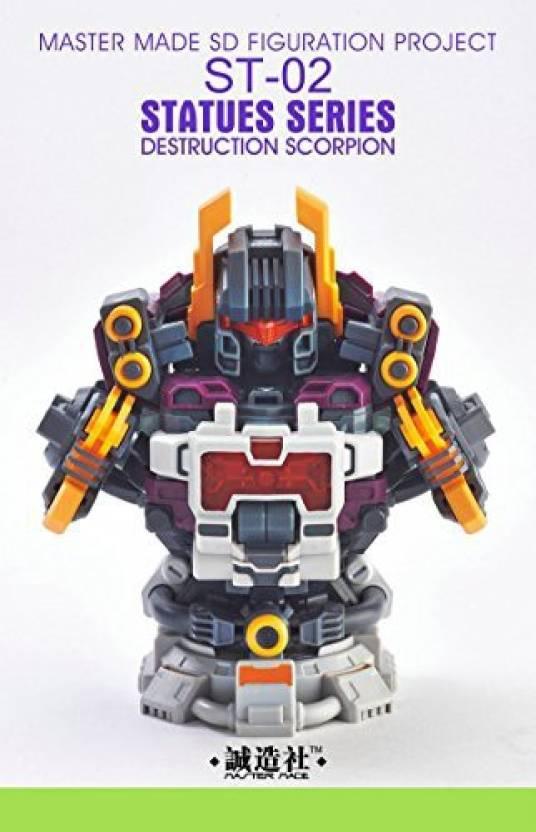 Bestgrey Transformers Master Made Statues Series St 02 Destruction