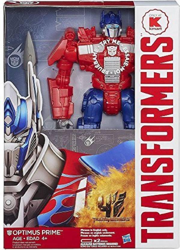 Hasbro Transformers Age Of Extinction Optimus Prime Toy Kmart