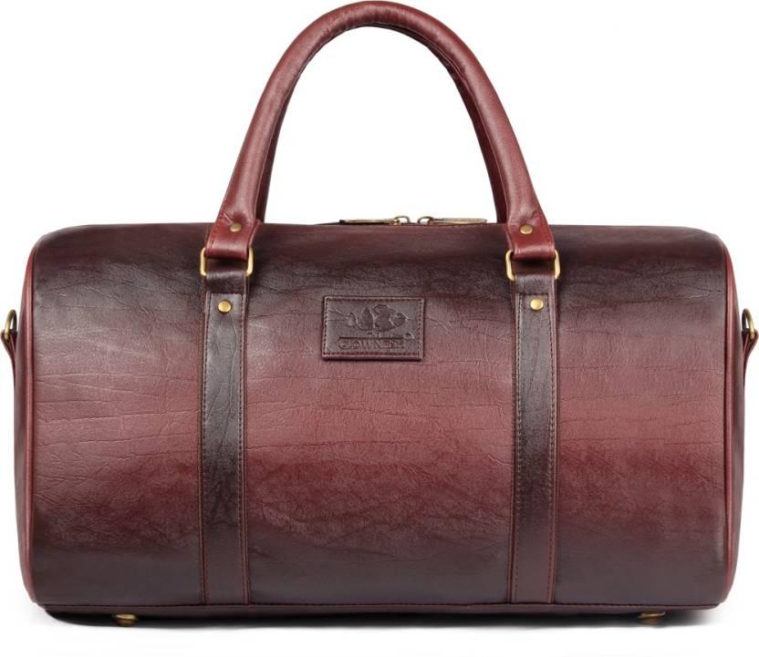The Clownfish Nomad Travel duffel bag Travel Duffel Bag Burgundy ... a7cd337255dee