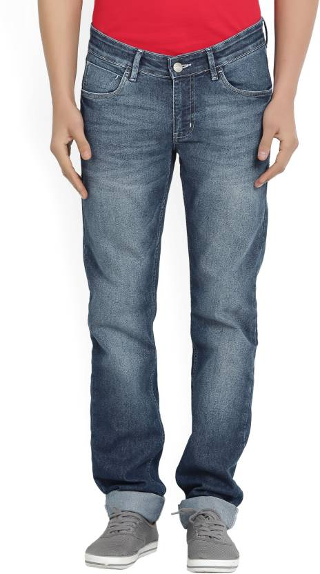Numero Uno Slim Mens Dark Blue Jeans