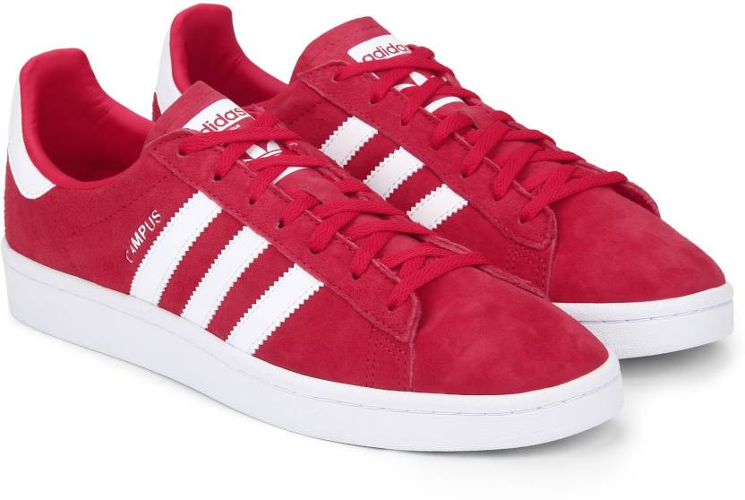 timeless design 6e23a c1909 ADIDAS ORIGINALS CAMPUS W Sneakers For Women (Red, White)