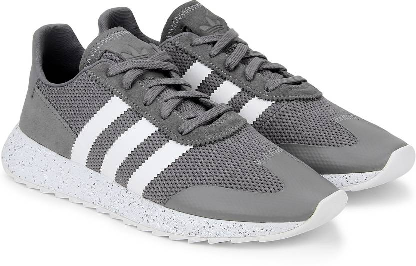the latest c3c07 44a40 ADIDAS ORIGINALS FLBRUNNER W Running Shoes For Women (Grey, White)