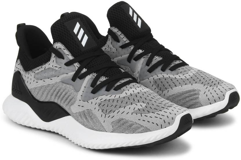 buy popular b6eeb efbea ADIDAS ALPHABOUNCE BEYOND W Running Shoes For Women (Black, Grey)