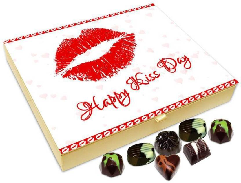 Chocholik Kiss Day Gift Box Happy Kiss Day Beautiful Chocolate Box