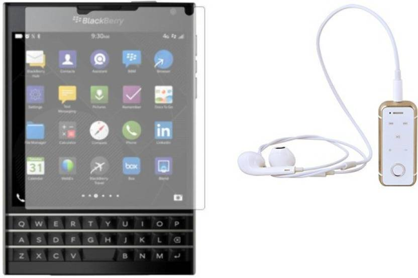 MudShi Screen Protector Accessory Combo for Blackberry
