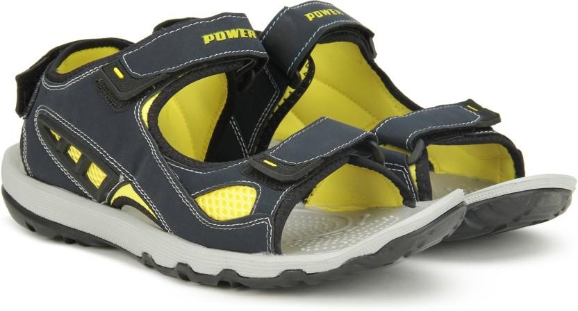 Power Men Blue Sports Sandals - Buy