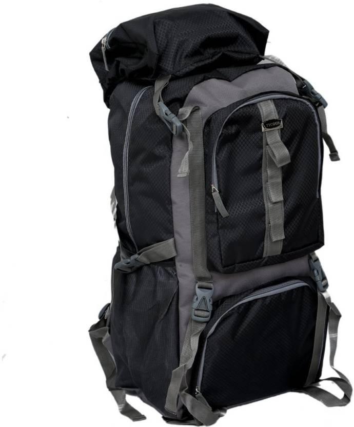Kuber Industries 60 Ltrs Dark Blue Backpack Rucksack Travelling Bag Hiking  Bag Adventure Bag Camping Bag 70 L Backpack (Grey 61449fdebbf96