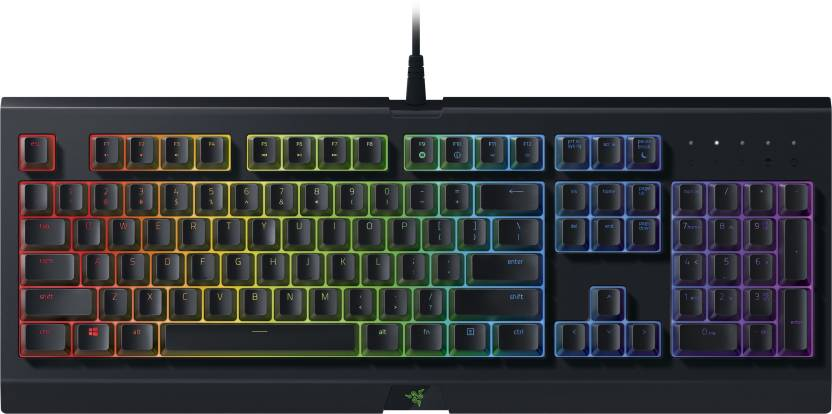 eba20d06912 Razer Cynosa Chroma Multi-color Membrane Wired USB Gaming Keyboard (Black)