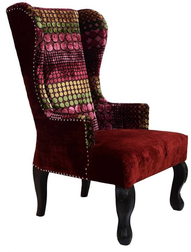 Timbertaste Sky Wing Chair Solid Wood Living Room Chair Price In