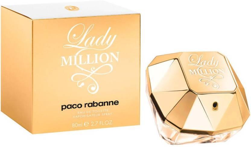 23b35f766 Buy Paco Rabanne Lady Million Eau de Toilette - 80 ml Online In ...