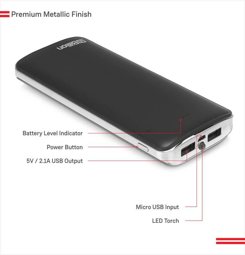 Billion PB132 HiEnergy 15000 mAh Power Bank