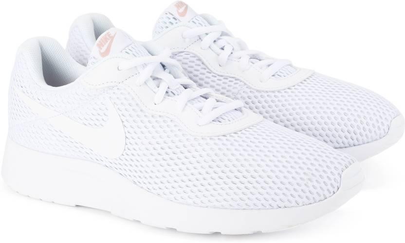 Nike WMNS NIKE TANJUN BR Running Shoes For Women - Buy WHITE Color ... ac25a1f5afa