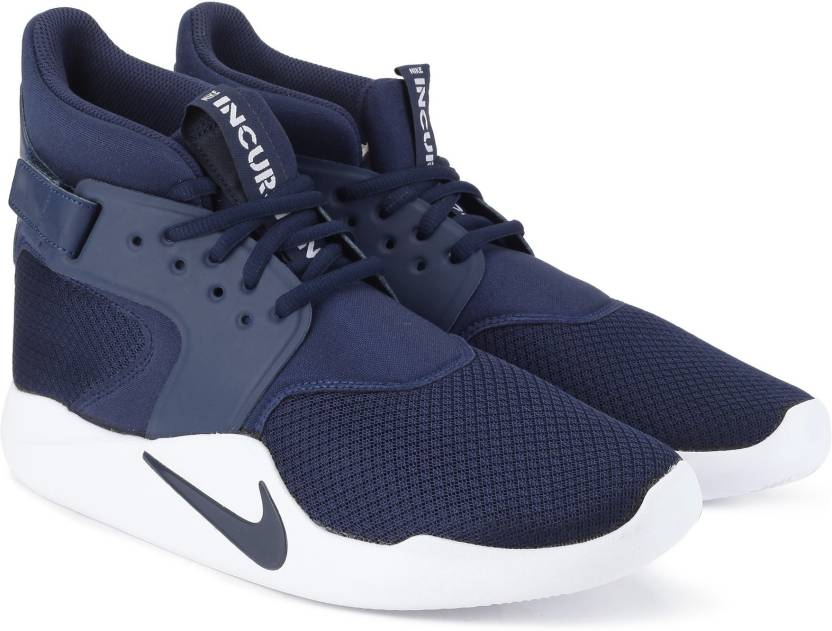 b585fe1a87df Nike INCURSION MID Basketball Shoes For Men - Buy MIDNIGHT NAVY ...