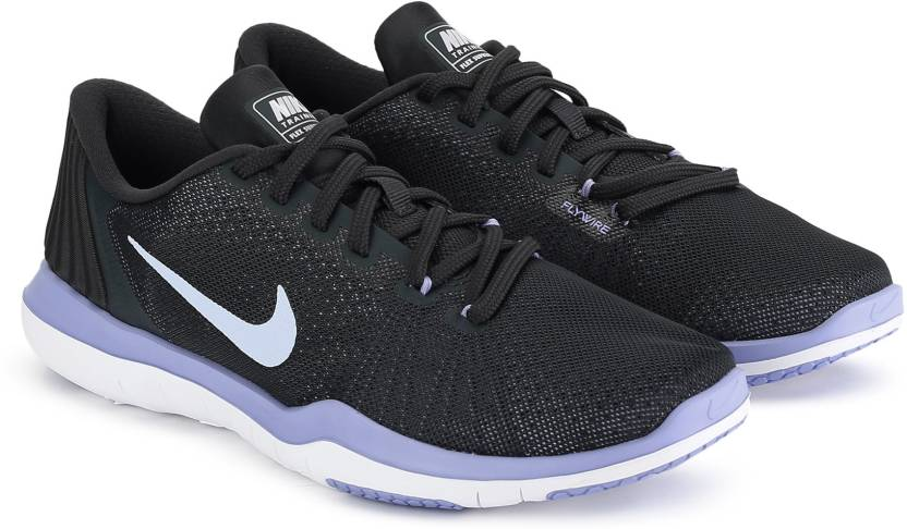 timeless design 80207 6dc81 Nike WMNS NIKE FLEX SUPREME TR 5 Training   Gym Shoes For Women (Black)
