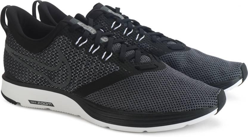 Nike ZOOM STRIKE Running Shoes For Men Buy BLACK/DARK GREY