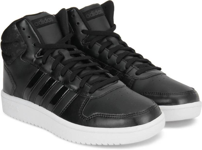 024ba25bbfd9 ADIDAS HOOPS 2.0 MID W Mid Sneakers For Women - Buy CBLACK CBLACK ...