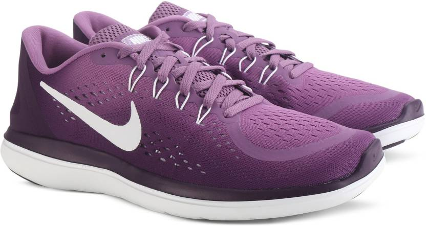 26e7f352fe83 Nike WMNS NIKE FLEX 2017 RN Running Shoes For Women - Buy PURPLE ...