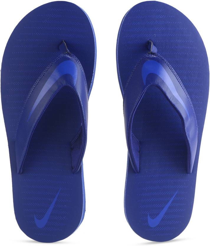 b0b5e4595 Nike CHROMA THONG 5 Slippers - Buy DEEP ROYAL BLUE RACER BLUE Color Nike  CHROMA THONG 5 Slippers Online at Best Price - Shop Online for Footwears in  India ...