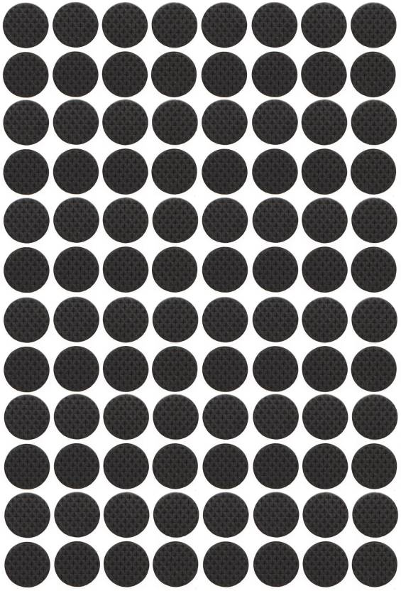 Store2508 Self Adhesive Rubber Pads for Furniture Floor Scratch
