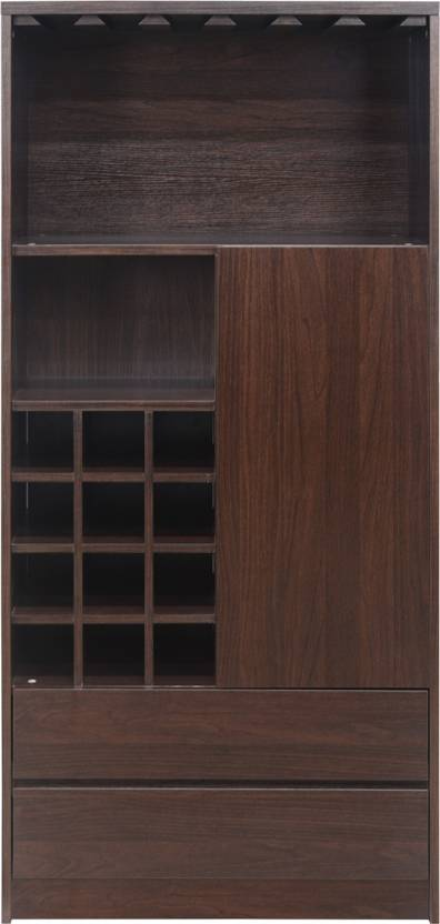 @home by Nilkamal Engineered Wood Bar Cabinet Finish Color   Brown @home by Nilkamal Bar Cabinets