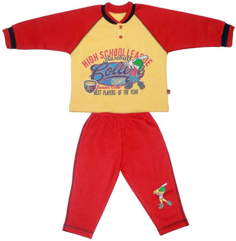 506fe0b7a Babeezworld Baby Boys   Baby Girls Casual Track Suit Track Suit ...