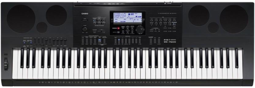 casio wk 7600 kh30 digital portable keyboard price in india buy rh flipkart com casio wk 6500 manual pdf Casio CT 6500 Pitch Bend
