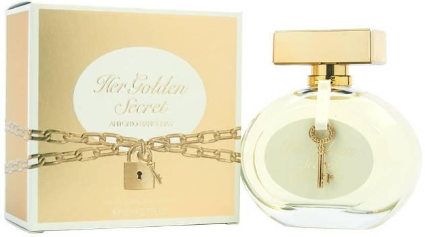 399efa94a Antonio Banderas Her Golden Secret Eau de Toilette - 80 ml (For Women)