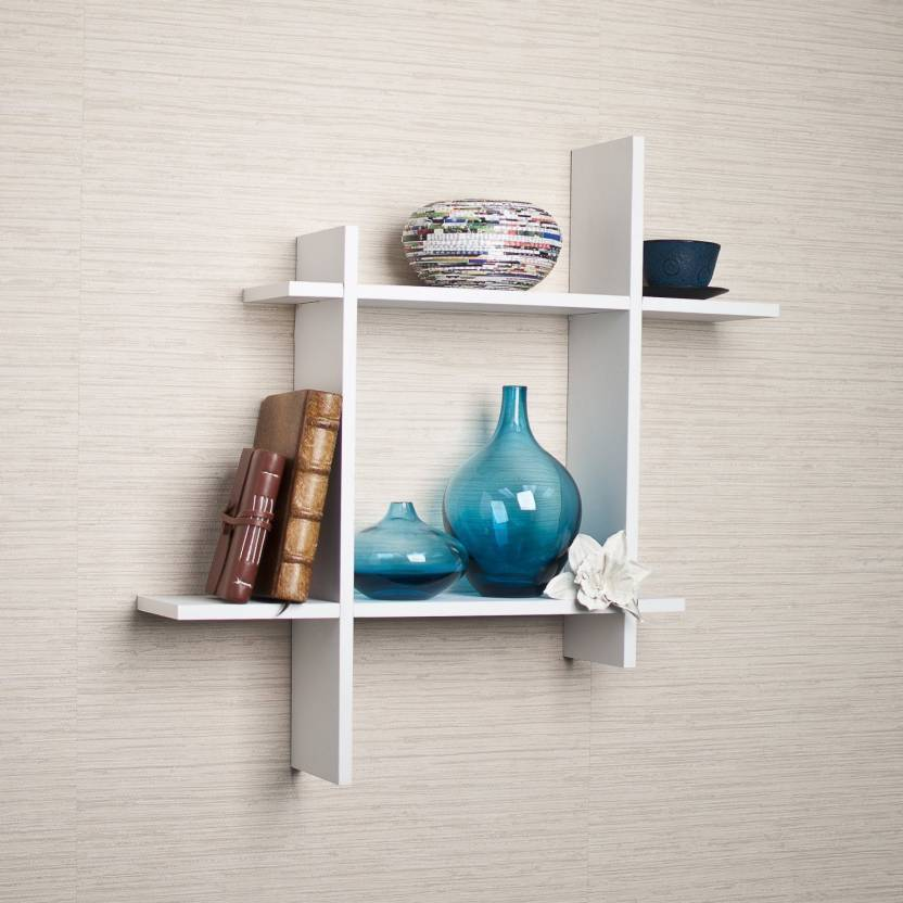 Craftonline Wooden Bedroom Wall Decor Wooden Wall Shelf Price In